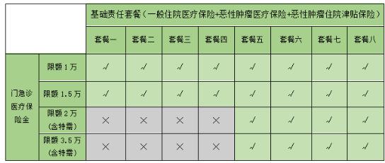 乐健一生2019版的优点3-更灵活的选择-具体搭配